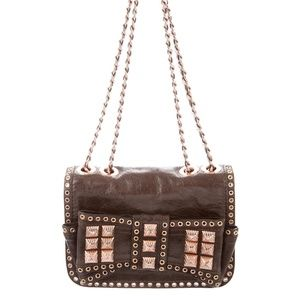 Rebecca Minkoff Brown Rose Gold Bag